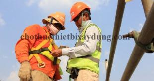 an toàn trong công tác lắp dựng giàn giáo cốp pha cốt thép
