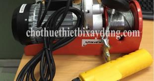 máy tời điện mini thiết bị trong xây dựng